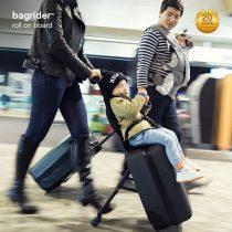 Vali du lịch kiêm xe đẩy Bagrider