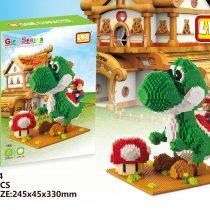 Bộ xếp hình Picachu, Mario, Gấu Pooh