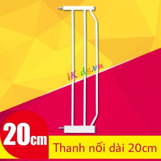 Thanh nối dài 20cm cho bộ chắn cửa, cầu thang.