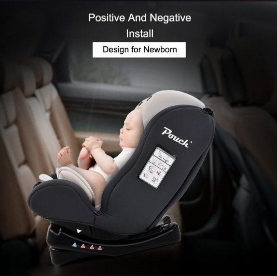 Ghế ôtô Pouch Q18 cho bé từ 0 Đến 6 tuổi