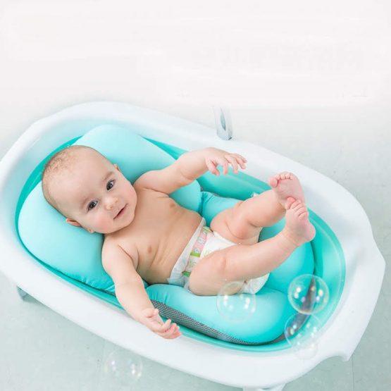 Lưới tắm An Toàn Cho Bé (Đệm siêu êm cho bé sơ sinh)
