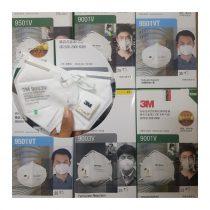 Khẩu trang 3M chính hãng, chống bụi siêu mịn PM2.5, tái sử dụng nhiều lần