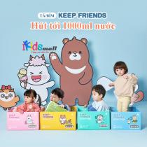 Bỉm Keep Friends hút 1000ml nước, đủ size (nội địa Hàn Quốc)