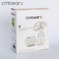 Máy hút sữa đơn Cmbear có chức năng massage (tặng 1 núm ty, 1 van chân không)